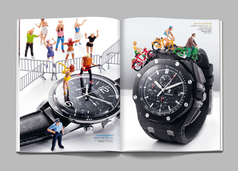 GQ-Sonderheftes zum Thema Uhren